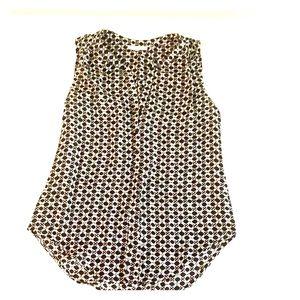 Nordstrom Black & White sleeveless top